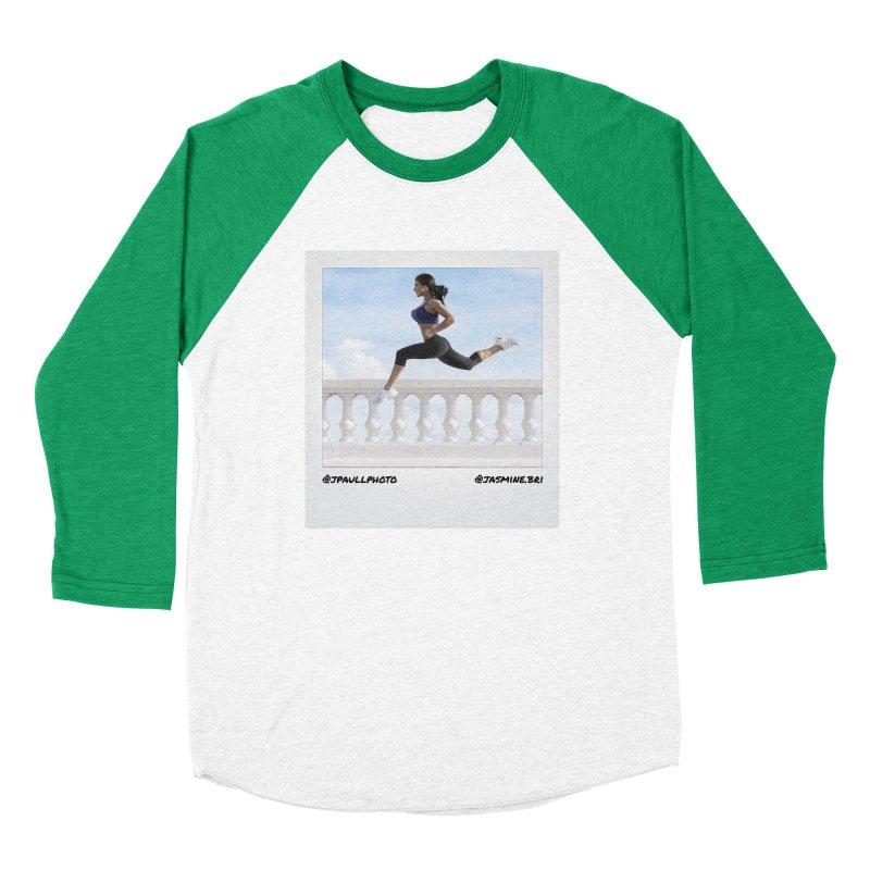Jasmine Run Men's Baseball Triblend Longsleeve T-Shirt by jpaullphoto's Artist Shop