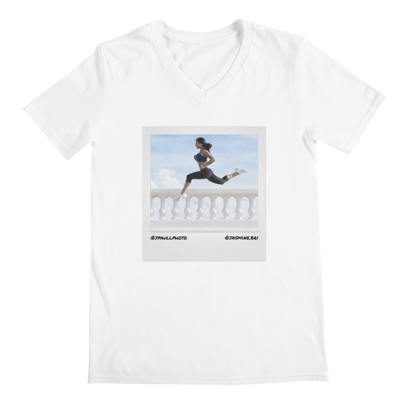 Jasmine Run Men's V-Neck by jpaullphoto's Artist Shop