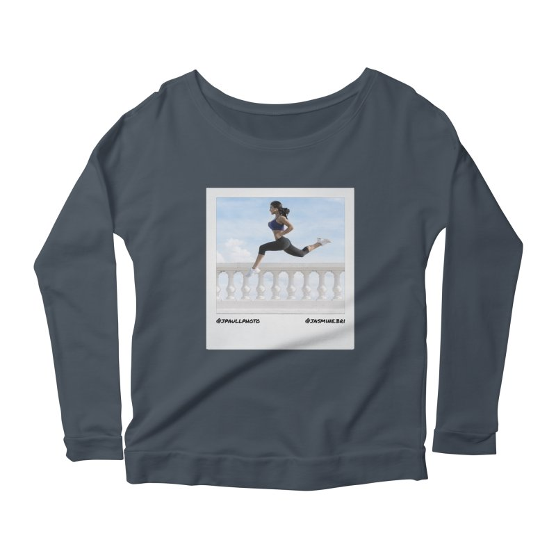 Jasmine Run Women's Scoop Neck Longsleeve T-Shirt by jpaullphoto's Artist Shop