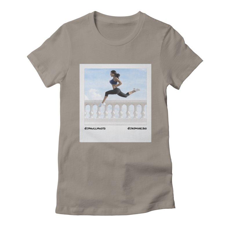 Jasmine Run Women's Fitted T-Shirt by jpaullphoto's Artist Shop