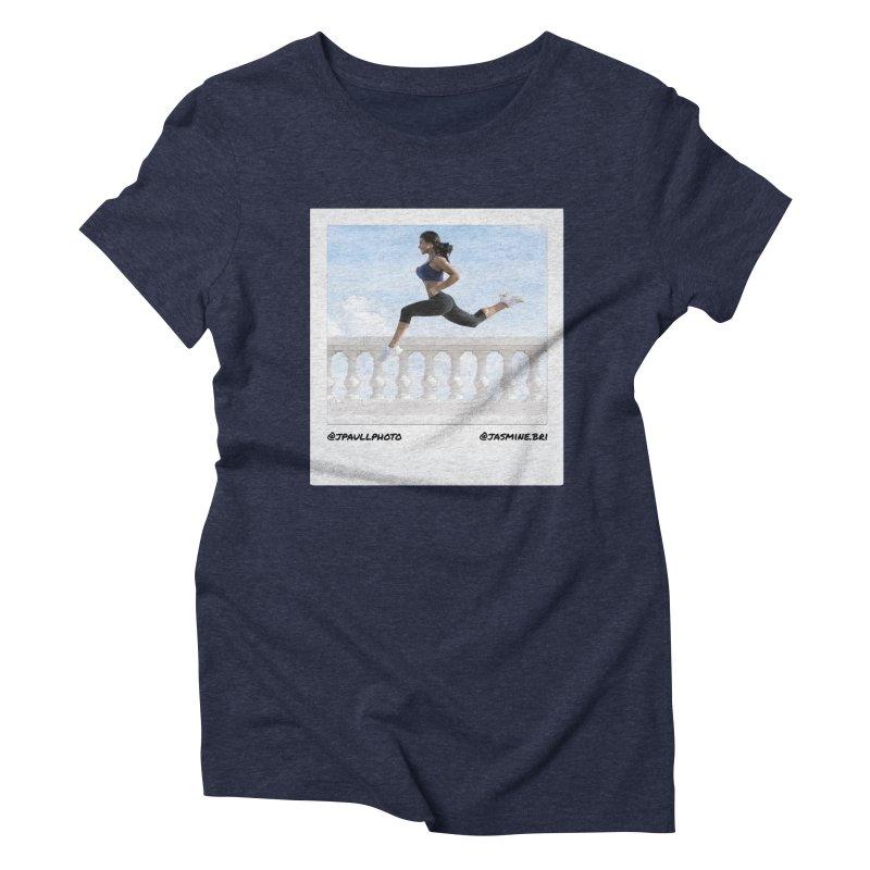 Jasmine Run Women's Triblend T-Shirt by jpaullphoto's Artist Shop