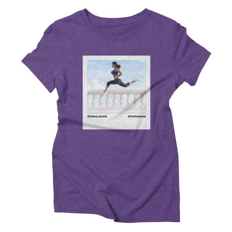 Jasmine Run Women's Triblend T-Shirt by jpaullphoto's Artist Shop
