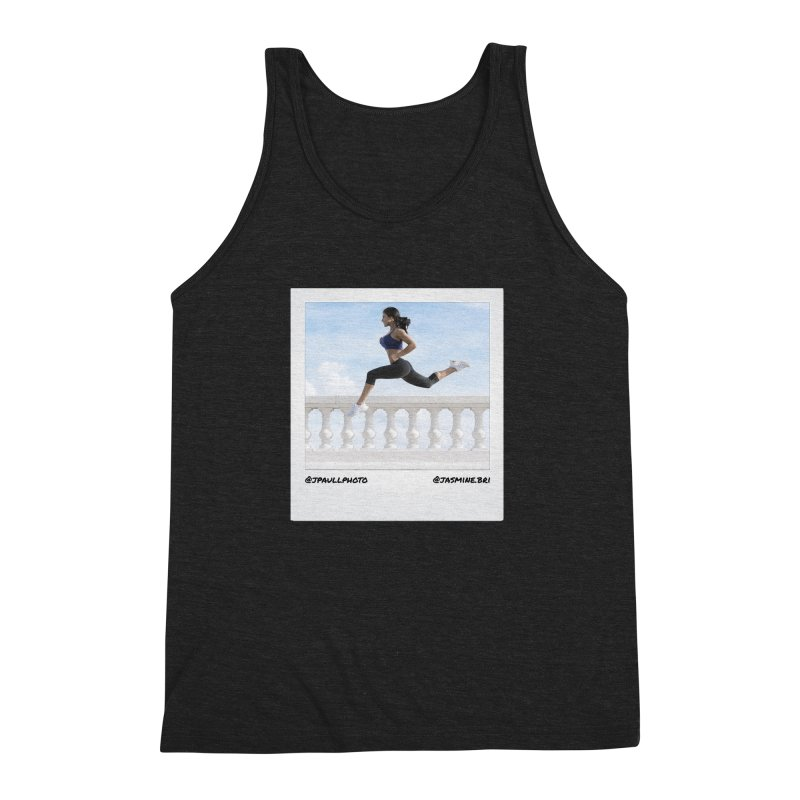 Jasmine Run Men's Triblend Tank by jpaullphoto's Artist Shop