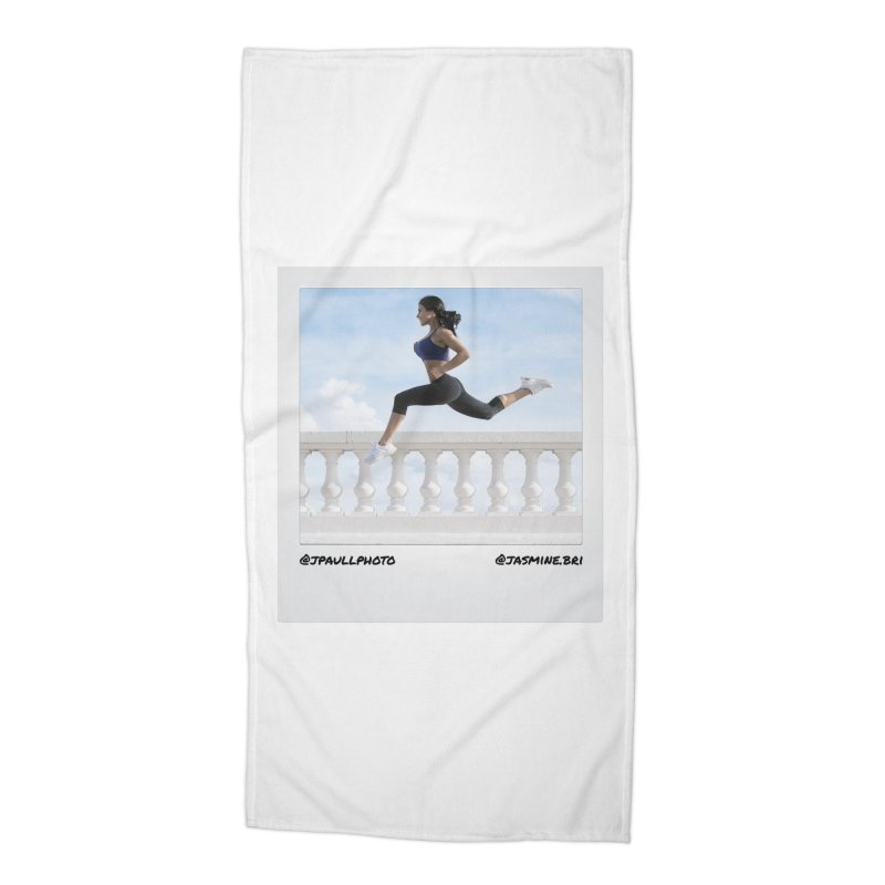 Jasmine Run Accessories Beach Towel by jpaullphoto's Artist Shop