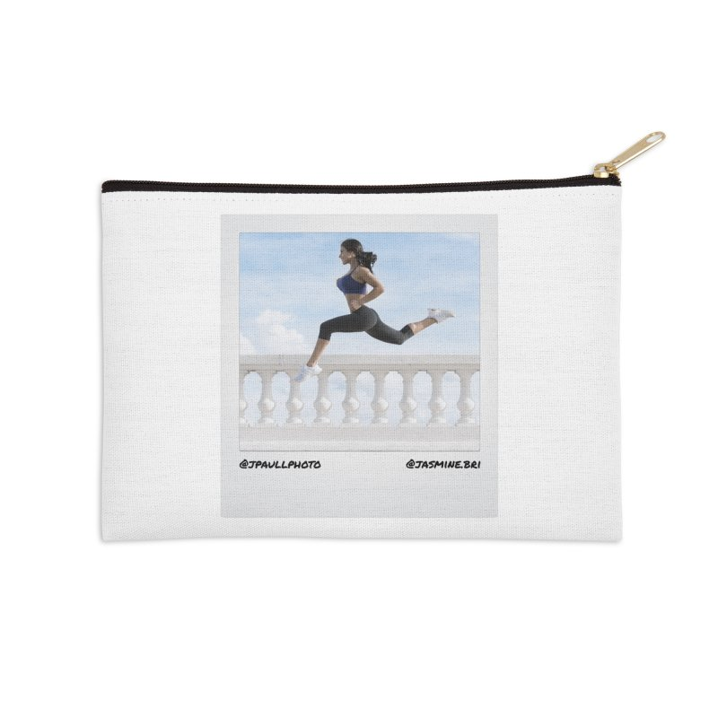 Jasmine Run Accessories Zip Pouch by jpaullphoto's Artist Shop