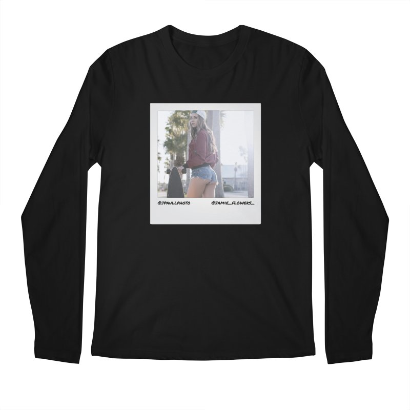 Jamie F Men's Regular Longsleeve T-Shirt by jpaullphoto's Artist Shop