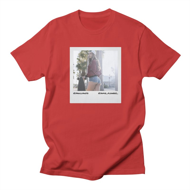 Jamie F Men's T-shirt by jpaullphoto's Artist Shop