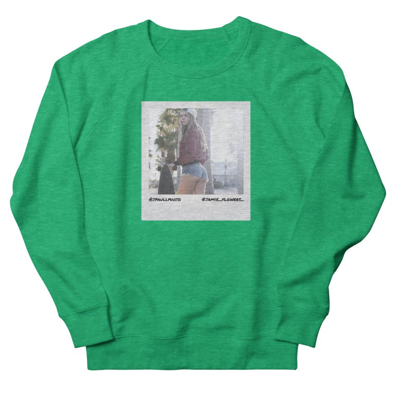 Jamie F Women's French Terry Sweatshirt by jpaullphoto's Artist Shop