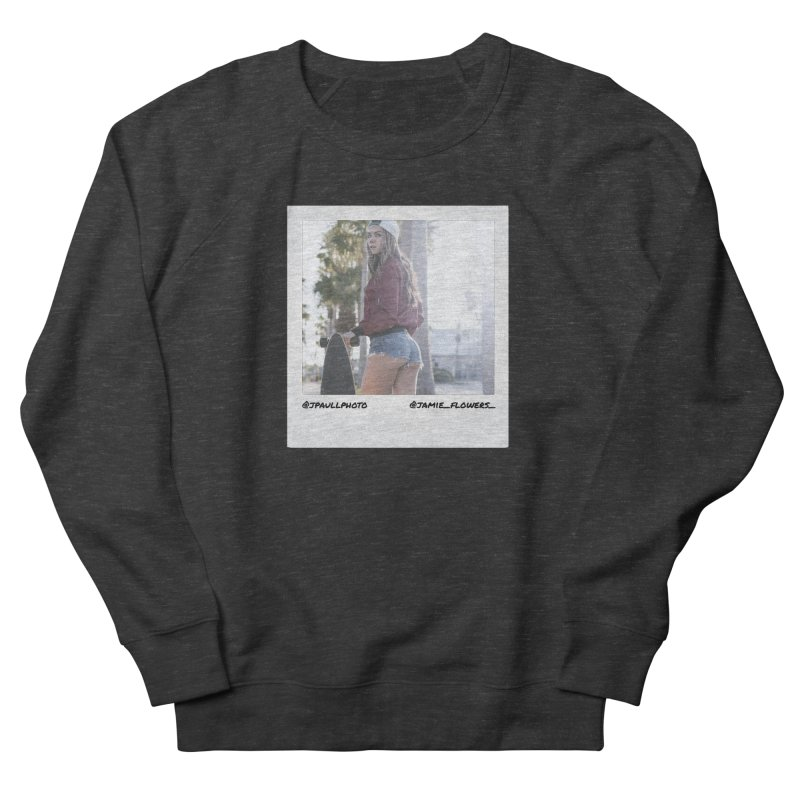 Jamie F Women's French Terry Sweatshirt by jpaullphoto's Artist Shop