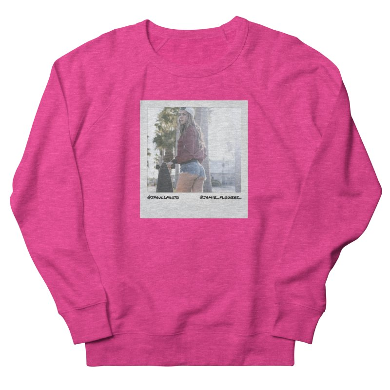 Jamie F Men's French Terry Sweatshirt by jpaullphoto's Artist Shop
