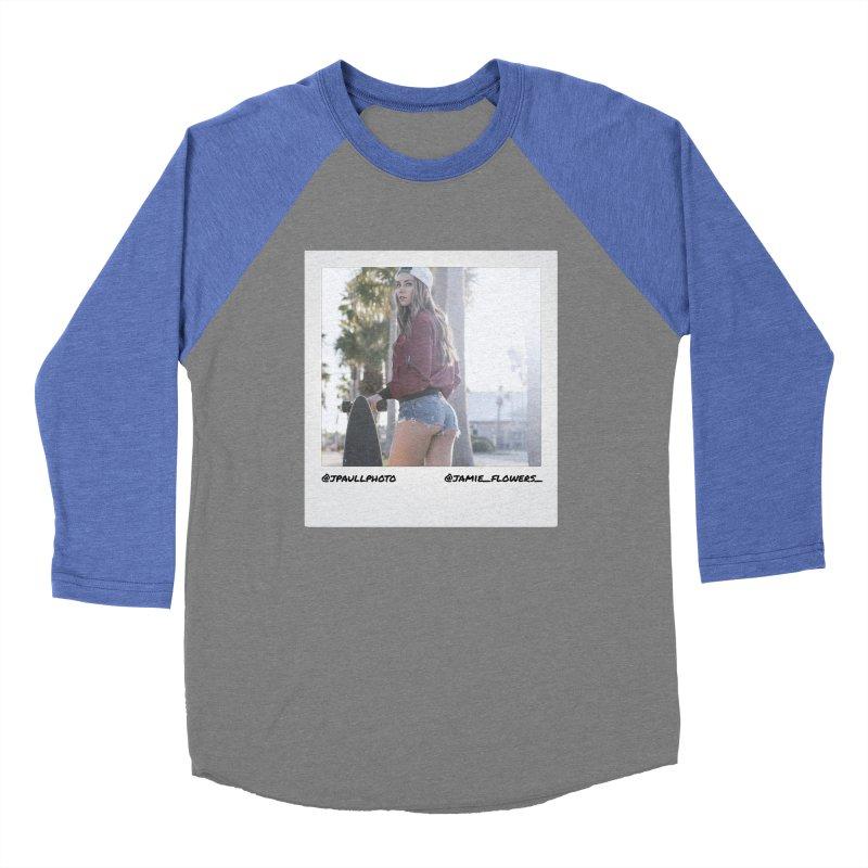 Jamie F Women's Baseball Triblend T-Shirt by jpaullphoto's Artist Shop