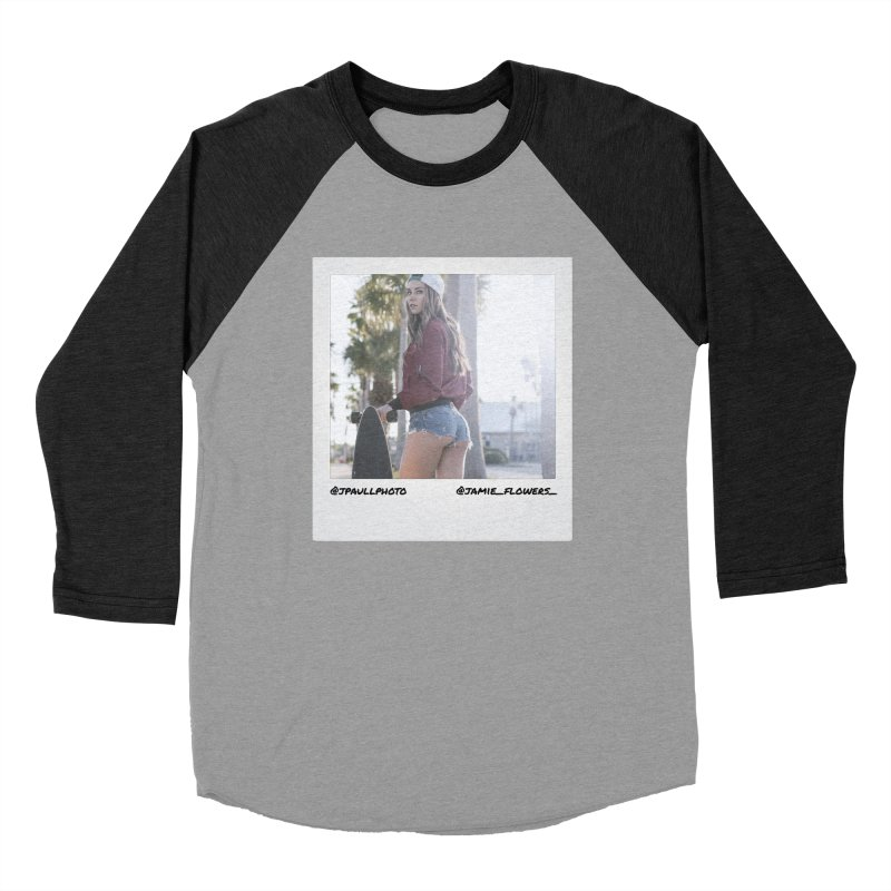 Jamie F Men's Baseball Triblend Longsleeve T-Shirt by jpaullphoto's Artist Shop