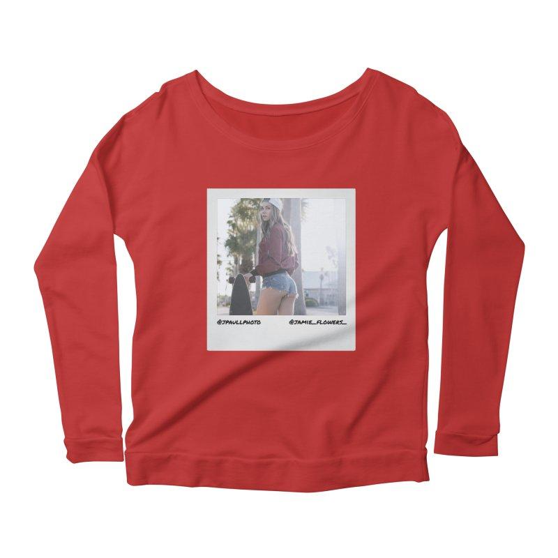 Jamie F Women's Scoop Neck Longsleeve T-Shirt by jpaullphoto's Artist Shop