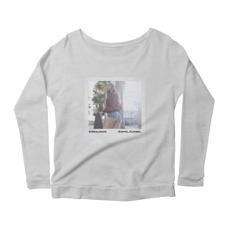 Jamie F Women's Scoop Neck Longsleeve T-Shirt by jpaullphoto's Artist Shop