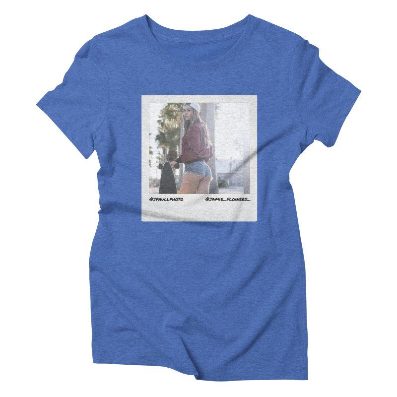 Jamie F Women's Triblend T-Shirt by jpaullphoto's Artist Shop