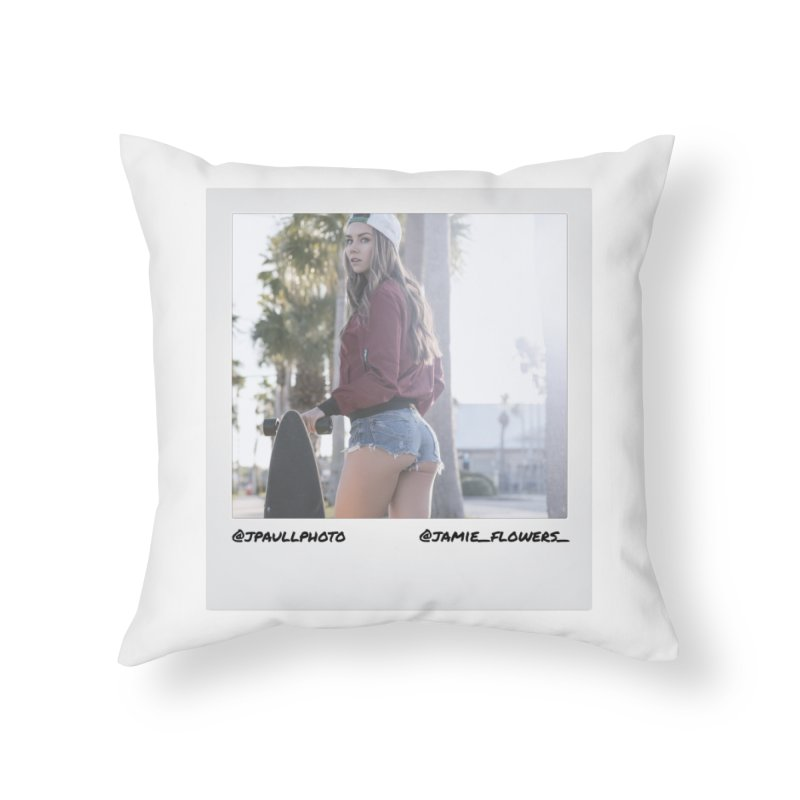 Jamie F Home Throw Pillow by jpaullphoto's Artist Shop