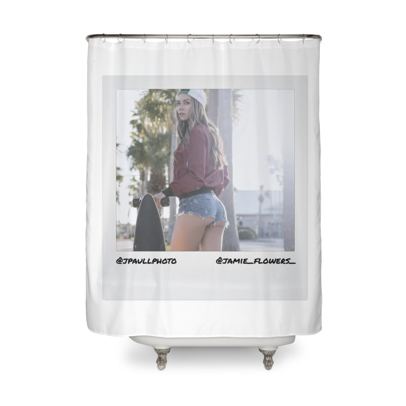 Jamie F Home Shower Curtain by jpaullphoto's Artist Shop