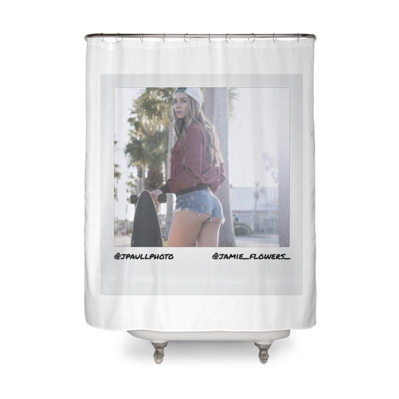 Jamie F Home Shower Curtain by jpaullphoto's Artist Shop