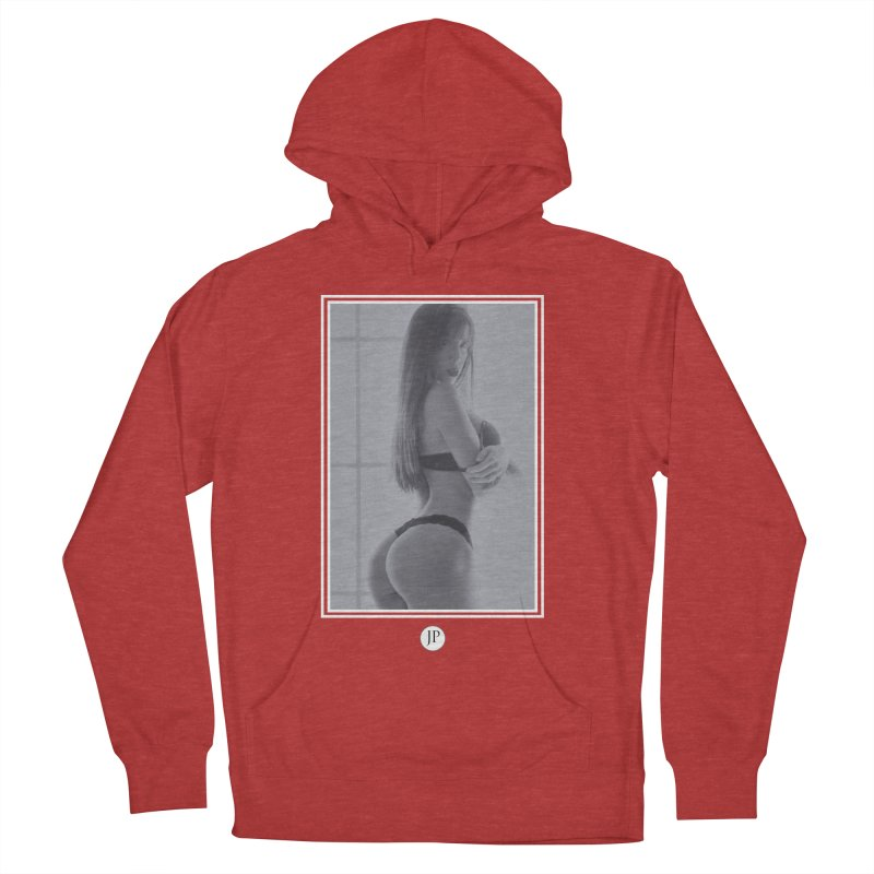 Brittany M. Men's French Terry Pullover Hoody by jpaullphoto's Artist Shop