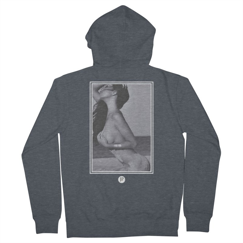 Charlotte L. Men's French Terry Zip-Up Hoody by jpaullphoto's Artist Shop