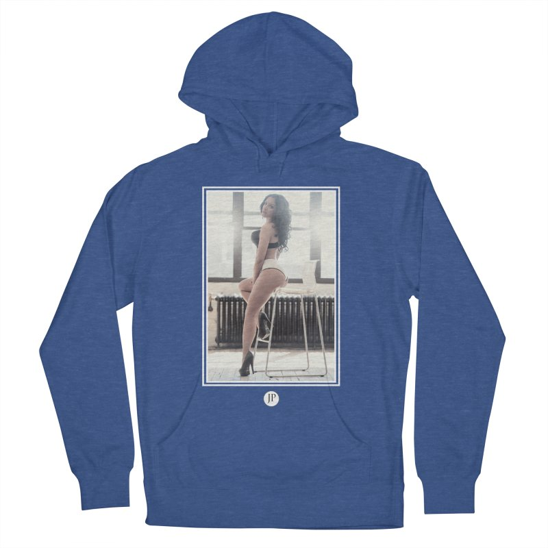 Gi Valentine  Women's French Terry Pullover Hoody by jpaullphoto's Artist Shop