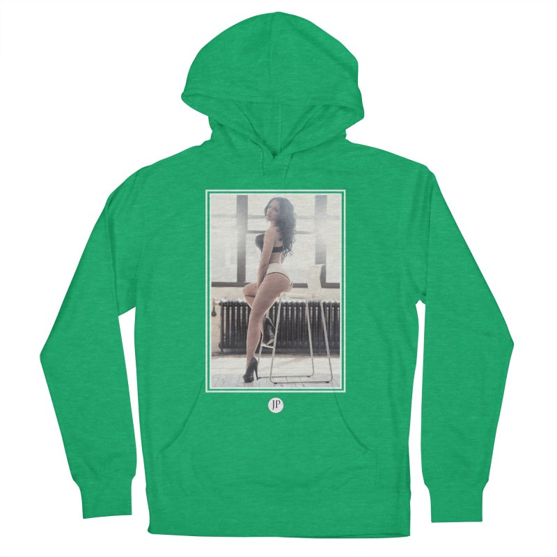 Gi Valentine  Men's French Terry Pullover Hoody by jpaullphoto's Artist Shop