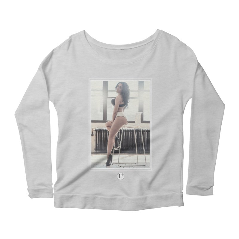 Gi Valentine  Women's Scoop Neck Longsleeve T-Shirt by jpaullphoto's Artist Shop