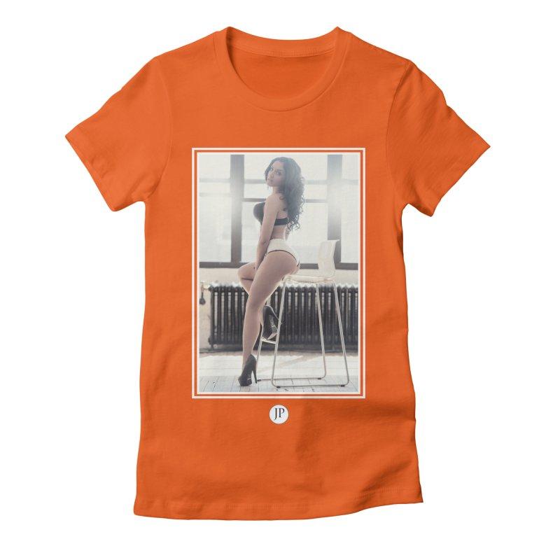 Gi Valentine  Women's Fitted T-Shirt by jpaullphoto's Artist Shop