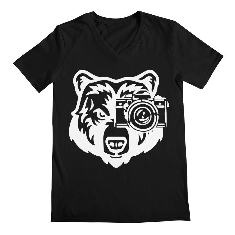 Big Bear Men's V-Neck by jpaullphoto's Artist Shop