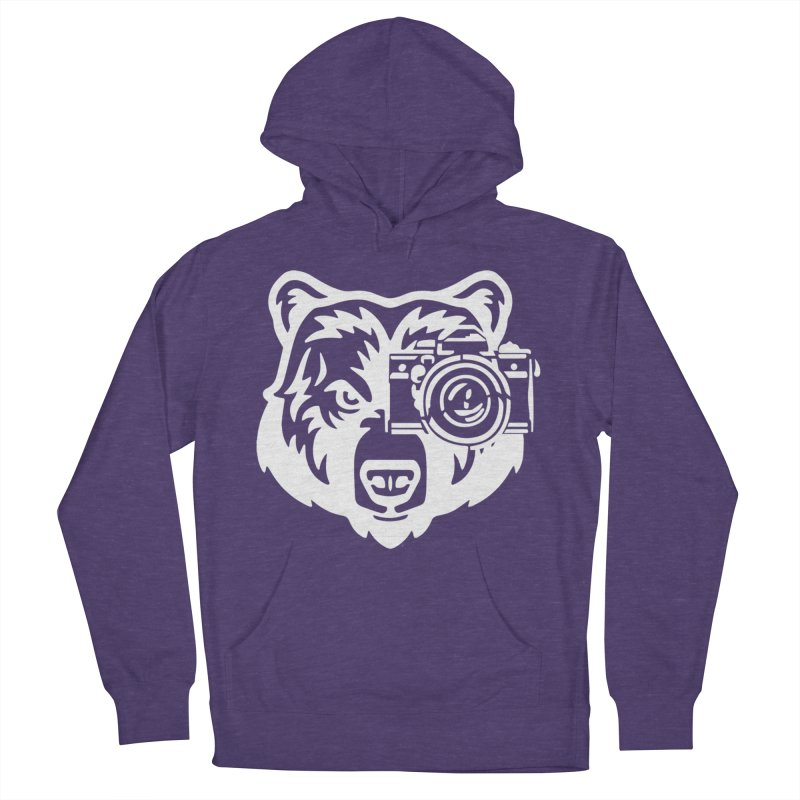 Big Bear Women's French Terry Pullover Hoody by jpaullphoto's Artist Shop