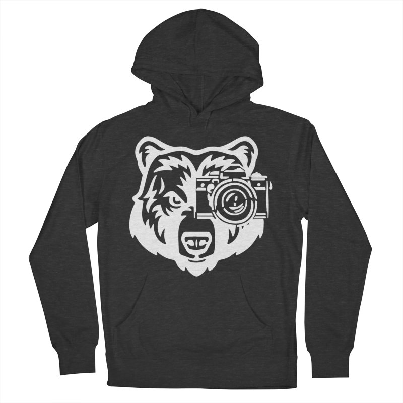 Big Bear Men's French Terry Pullover Hoody by jpaullphoto's Artist Shop