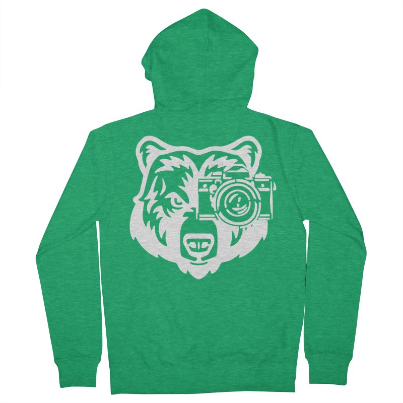 Big Bear Women's Zip-Up Hoody by jpaullphoto's Artist Shop