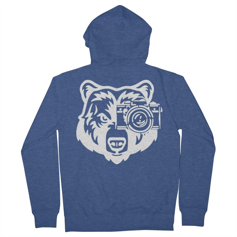 Big Bear Women's French Terry Zip-Up Hoody by jpaullphoto's Artist Shop