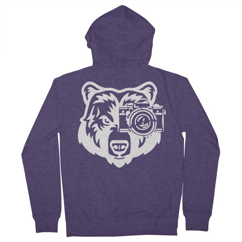 Big Bear Men's Zip-Up Hoody by jpaullphoto's Artist Shop