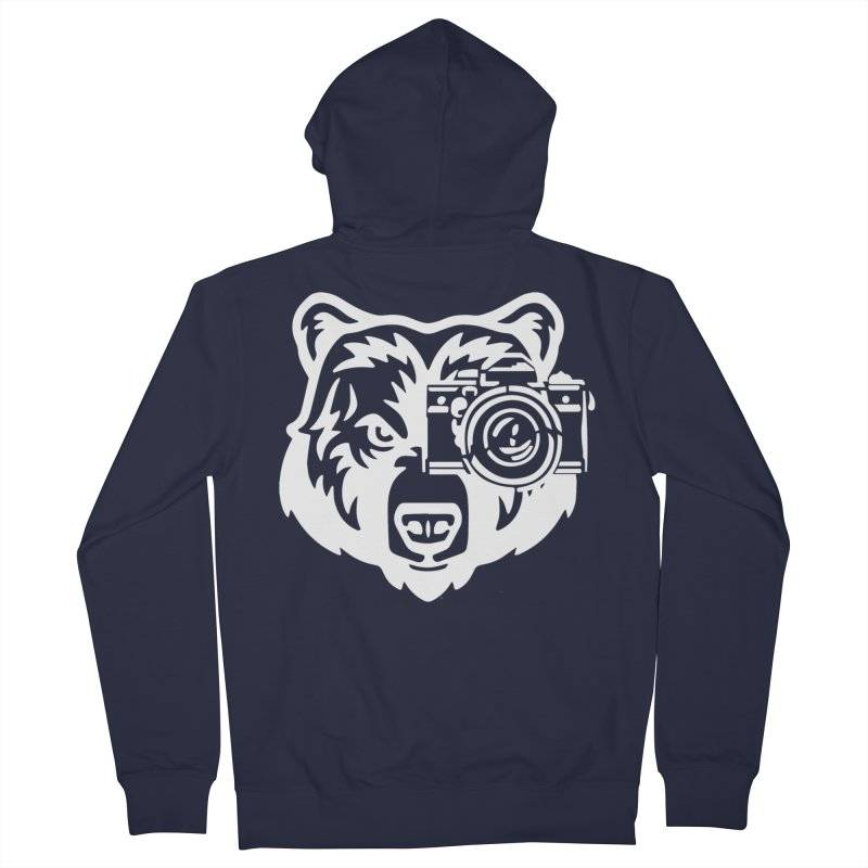 Big Bear Men's French Terry Zip-Up Hoody by jpaullphoto's Artist Shop