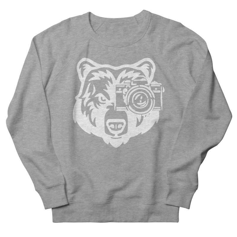 Big Bear Men's French Terry Sweatshirt by jpaullphoto's Artist Shop