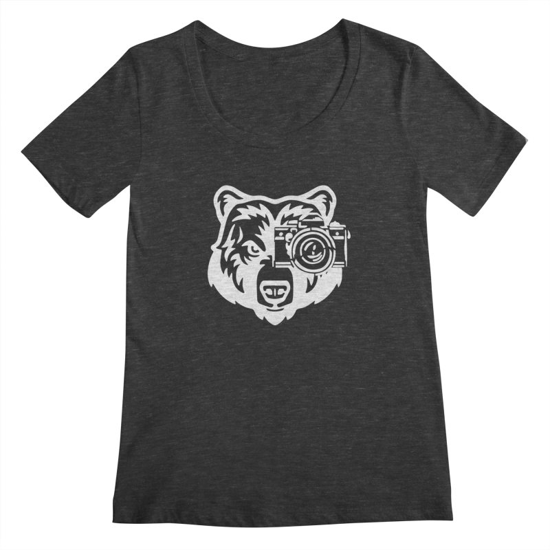 Big Bear Women's Scoopneck by jpaullphoto's Artist Shop