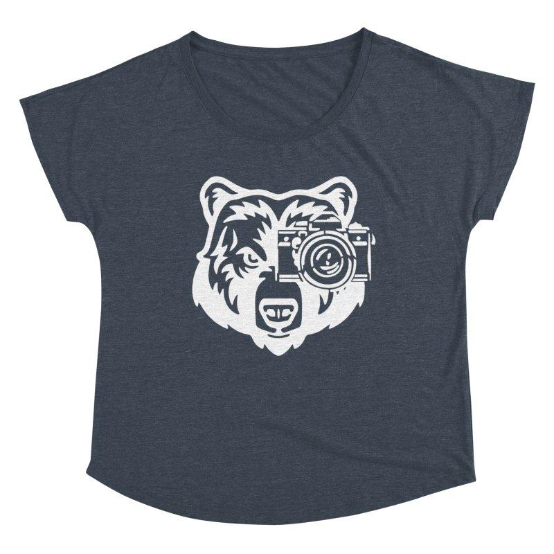 Big Bear Women's Scoop Neck by jpaullphoto's Artist Shop