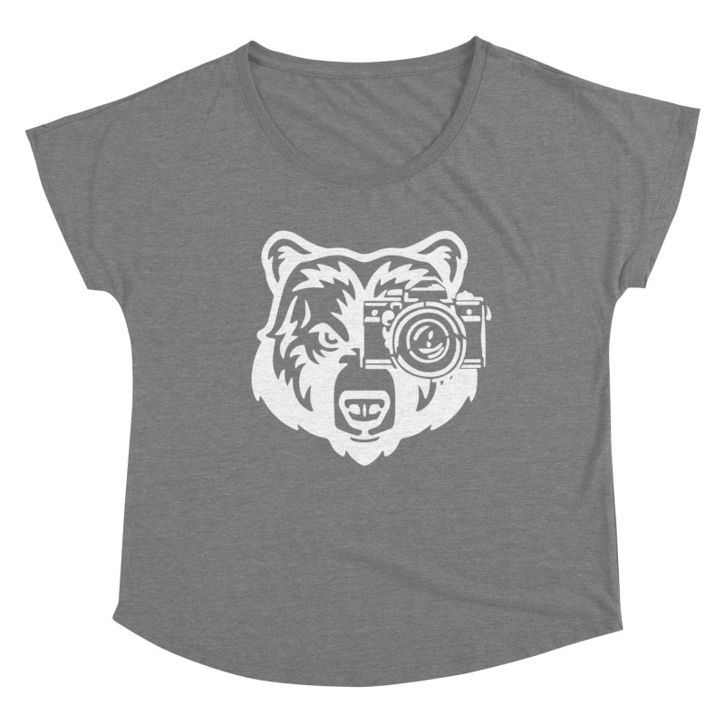 Big Bear Women's Scoop Neck by jpaullphoto's Artist Shop