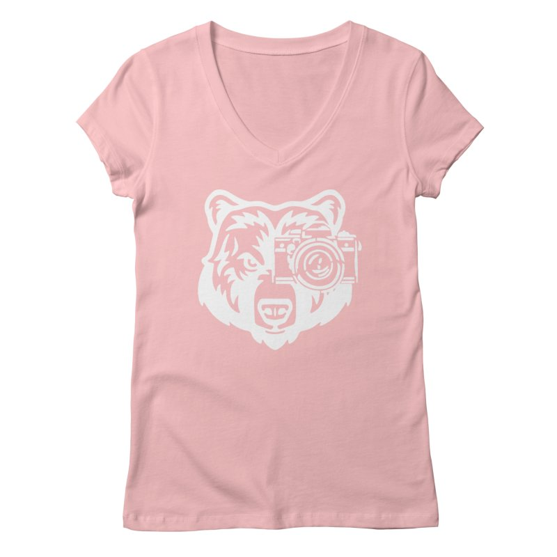 Big Bear Women's V-Neck by jpaullphoto's Artist Shop