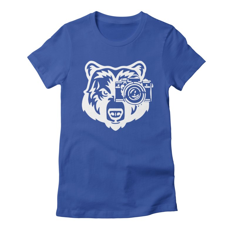 Big Bear Women's Fitted T-Shirt by jpaullphoto's Artist Shop