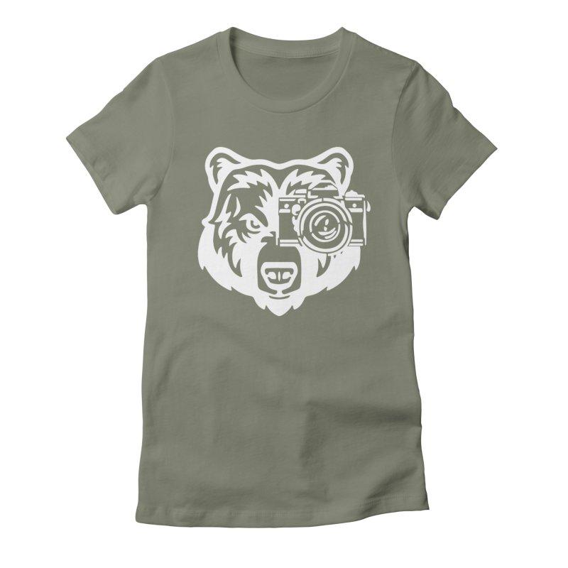 Big Bear Women's Fitted T-Shirt by jpaullphoto's Artist Shop