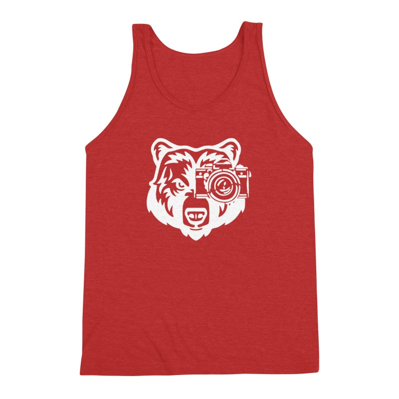 Big Bear Men's Triblend Tank by jpaullphoto's Artist Shop