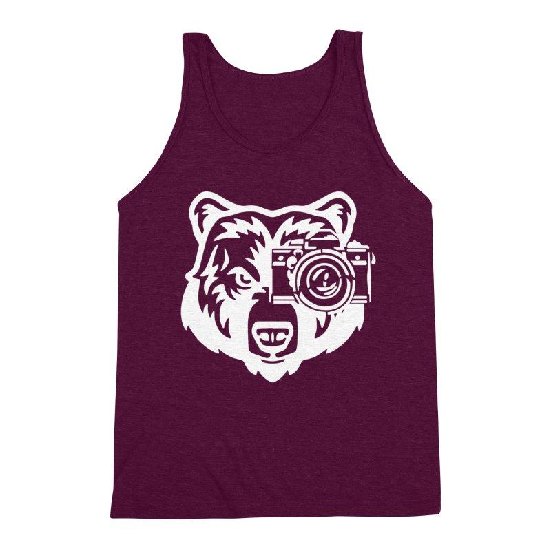 Big Bear Men's Triblend Tank by jpaullphoto's Artist Shop