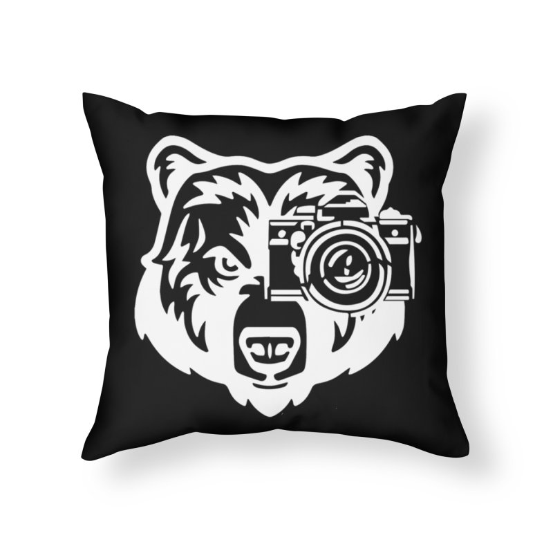 Big Bear Home Throw Pillow by jpaullphoto's Artist Shop
