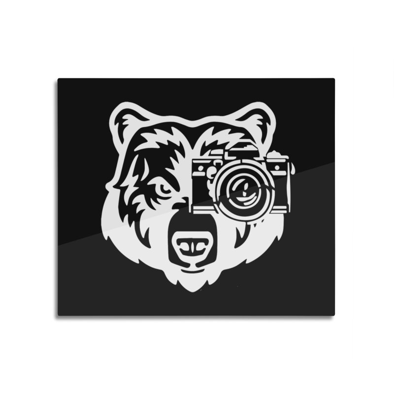 Big Bear Home Mounted Aluminum Print by jpaullphoto's Artist Shop
