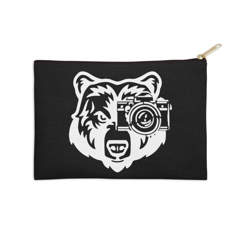Big Bear Accessories Zip Pouch by jpaullphoto's Artist Shop