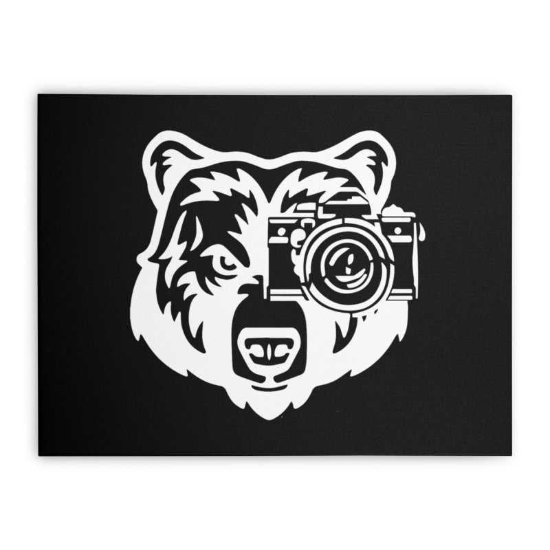 Big Bear Home Stretched Canvas by jpaullphoto's Artist Shop