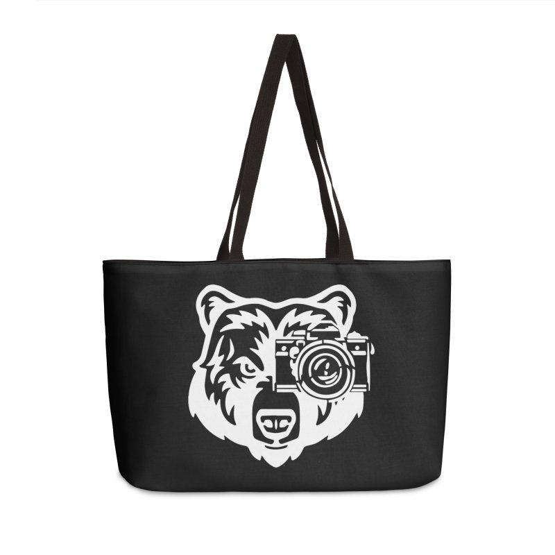 Big Bear Accessories Weekender Bag Bag by jpaullphoto's Artist Shop