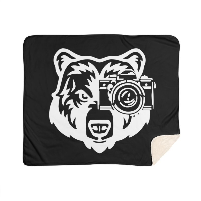 Big Bear Home Sherpa Blanket Blanket by jpaullphoto's Artist Shop